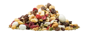 Yogurt Nut Trek with Cranberry Trail Mix