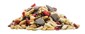 Dark Chocolate and Triple Berry Trail Mix